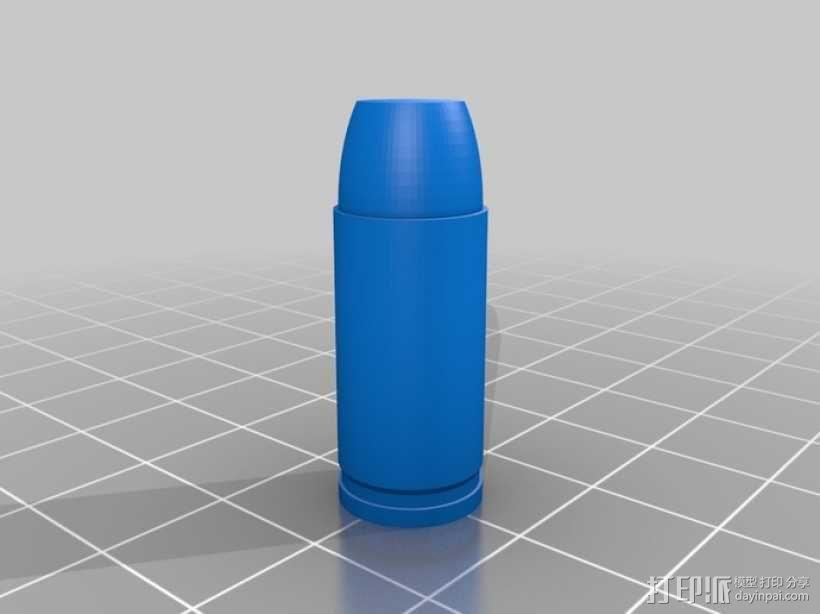 参数化子弹模型 3D模型  图4