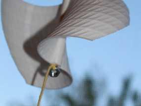 涡轮机风车叶片 3D模型