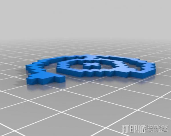 像素图形小精灵  3D模型  图4