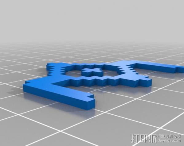 像素图形小精灵  3D模型  图6