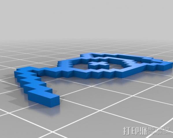 像素图形小精灵  3D模型  图8