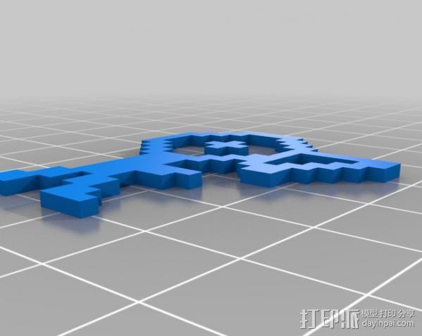 像素图形小精灵  3D模型  图7