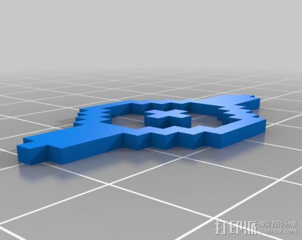 像素图形小精灵  3D模型  图10