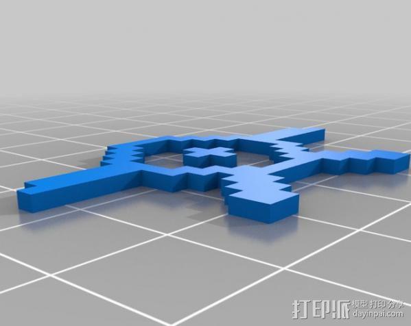 像素图形小精灵  3D模型  图12