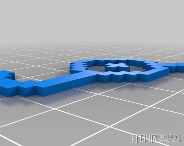 像素图形小精灵  3D模型  图11