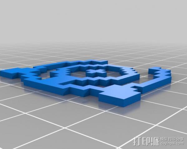 像素图形小精灵  3D模型  图14