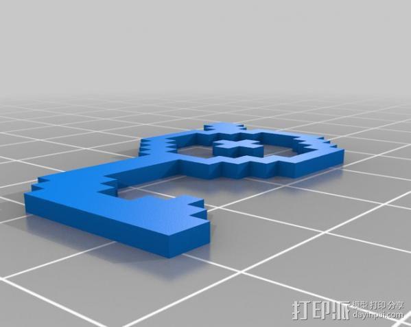 像素图形小精灵  3D模型  图13
