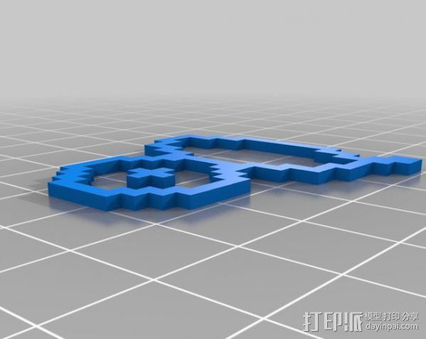 像素图形小精灵  3D模型  图23