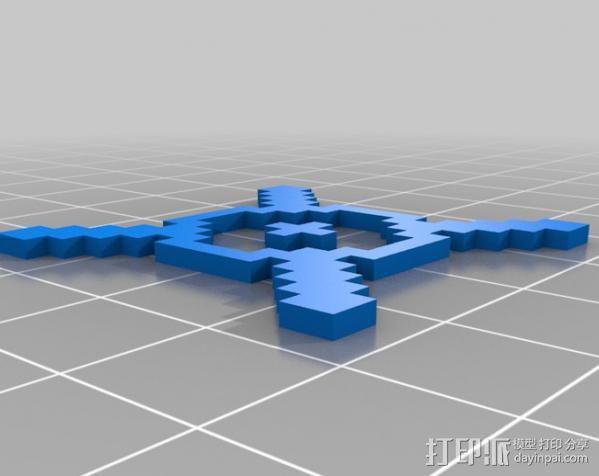 像素图形小精灵  3D模型  图25