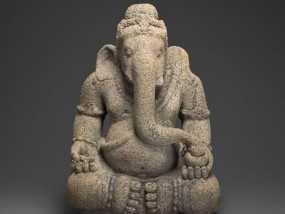 象头神 模型 3D模型