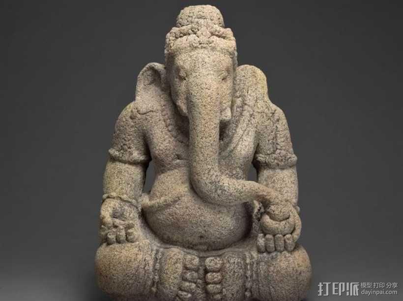 象头神 模型 3D模型  图3