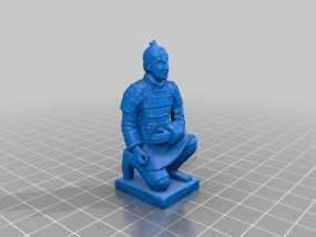 兵马俑 3D模型
