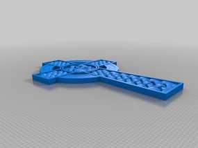 凯尔特十字架 3D模型