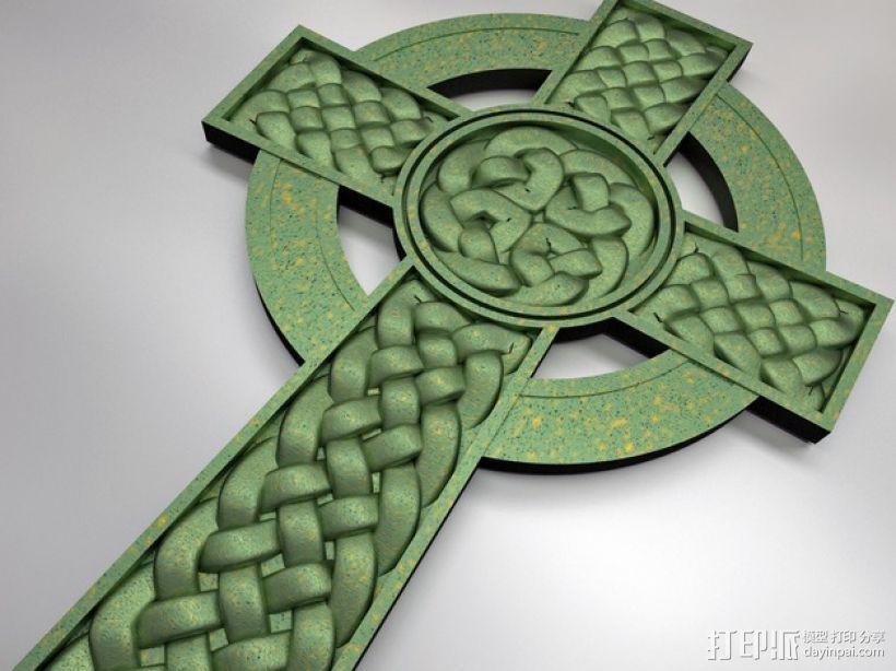 凯尔特十字架 3D模型  图2