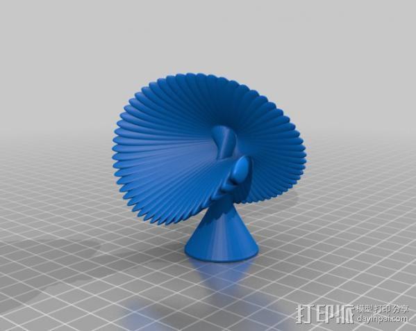 贝壳花 3D模型  图4