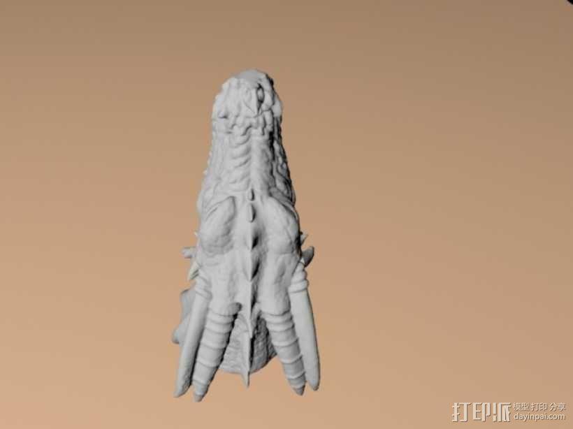 龙头模型 3D模型  图2