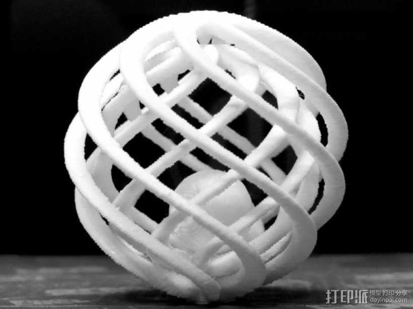 巢状式小球 3D模型  图1