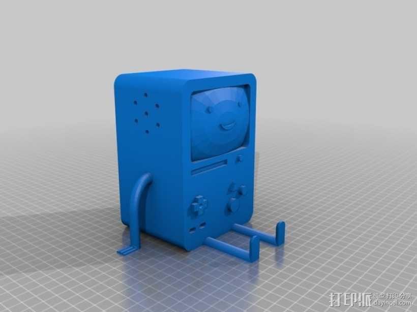 BMO游戏机 3D模型  图1