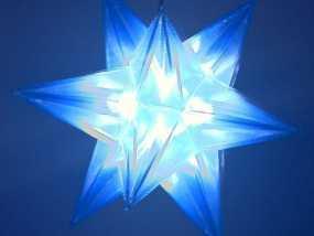 十二面体圣诞之星 3D模型