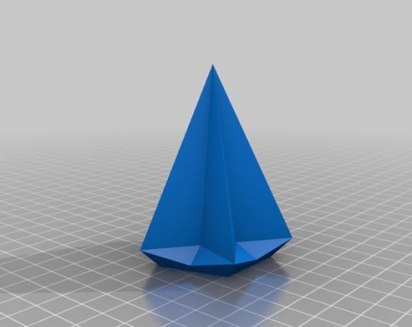 十二面体圣诞之星 3D模型  图2