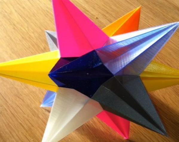 十二面体圣诞之星 3D模型  图5