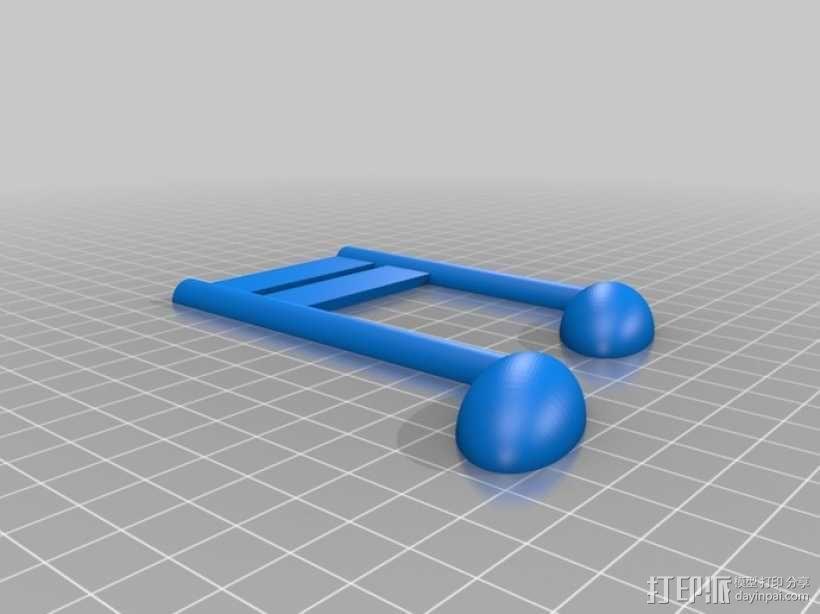乐谱 音乐符 3D模型  图6