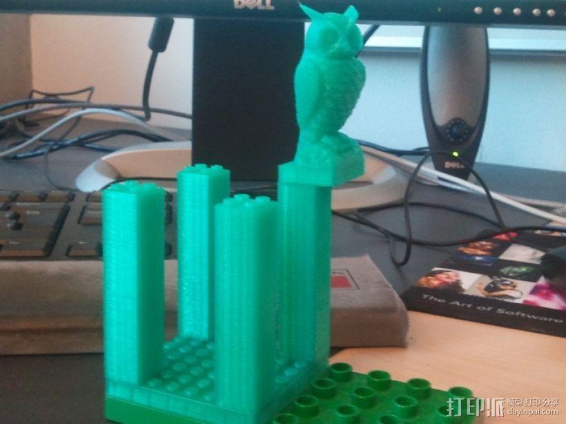 猫头鹰模型 3D模型  图3