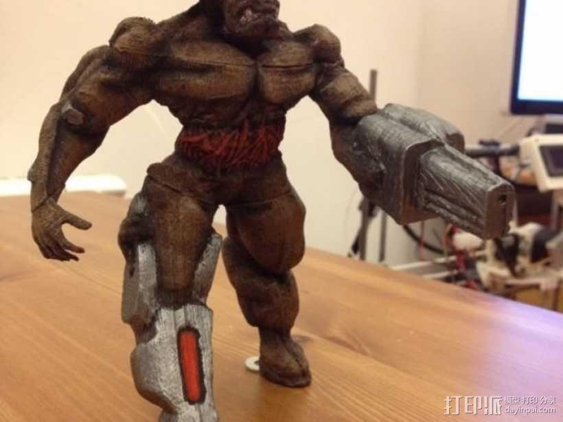 牛魔王雕塑 3D模型  图4