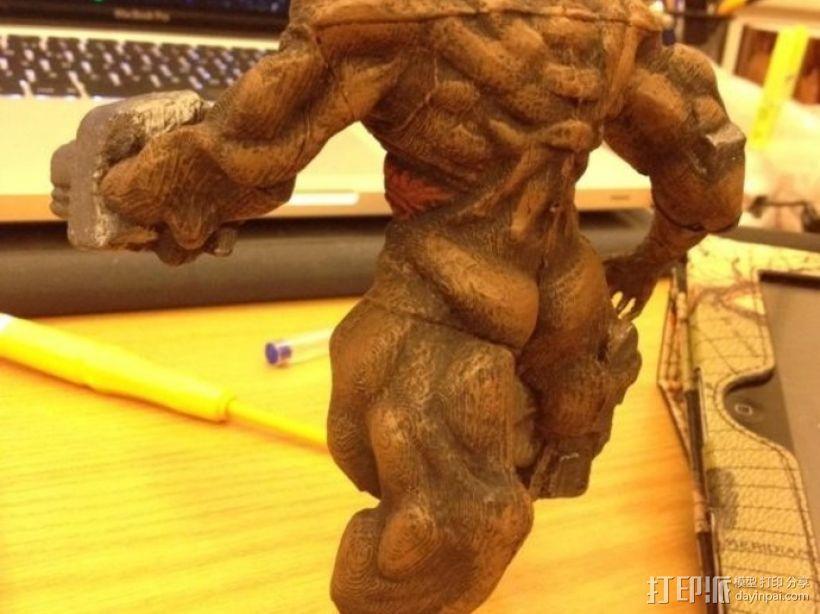 牛魔王雕塑 3D模型  图5