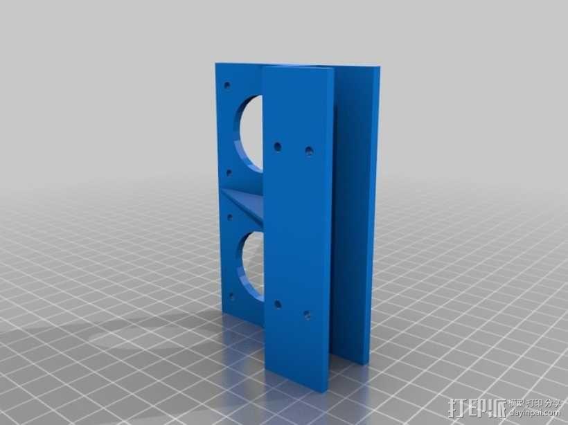 步进机支架 3D模型  图6