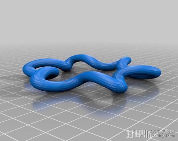 凯尔特结指环 3D模型  图6