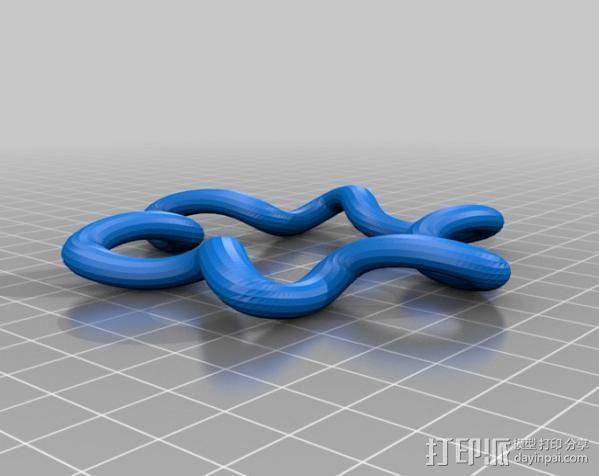 凯尔特结指环 3D模型  图7