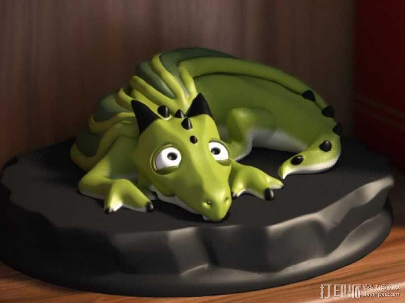口袋妖怪 小火龙模型 3D模型  图1