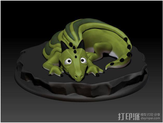 口袋妖怪 小火龙模型 3D模型  图2