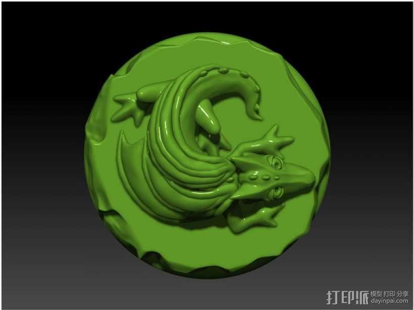 口袋妖怪 小火龙模型 3D模型  图5