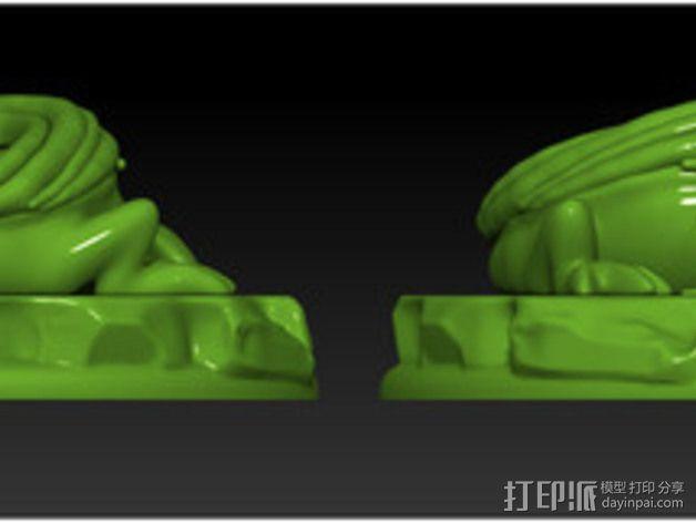 口袋妖怪 小火龙模型 3D模型  图4