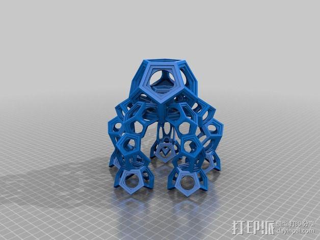 十二烷模型 3D模型  图2