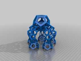 十二烷模型 3D模型