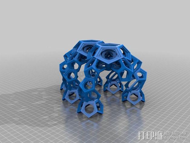 十二烷模型 3D模型  图3