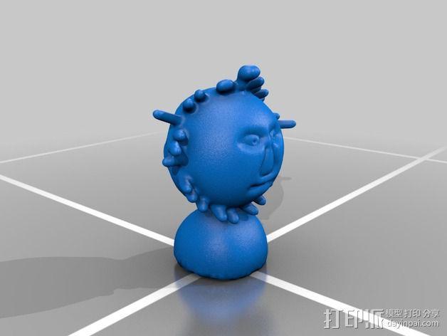 Mr Sun aka模型 3D模型  图2