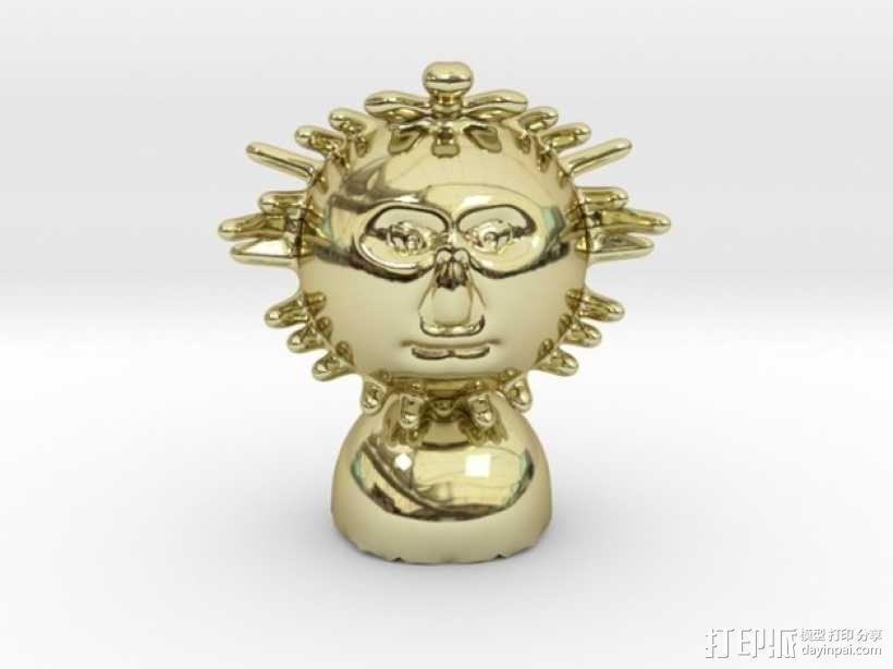 Mr Sun aka模型 3D模型  图1