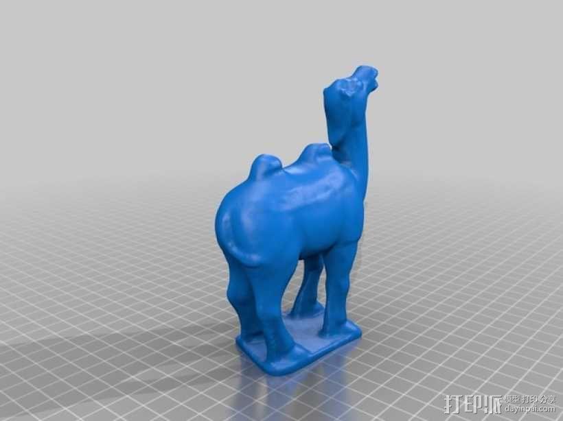 骆驼模型 3D模型  图1