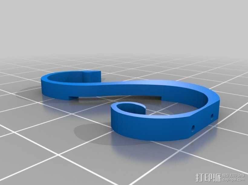 音符标志 3D模型  图2