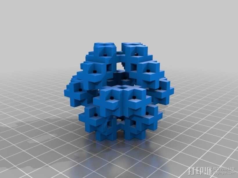不规则几何体 3D模型  图1