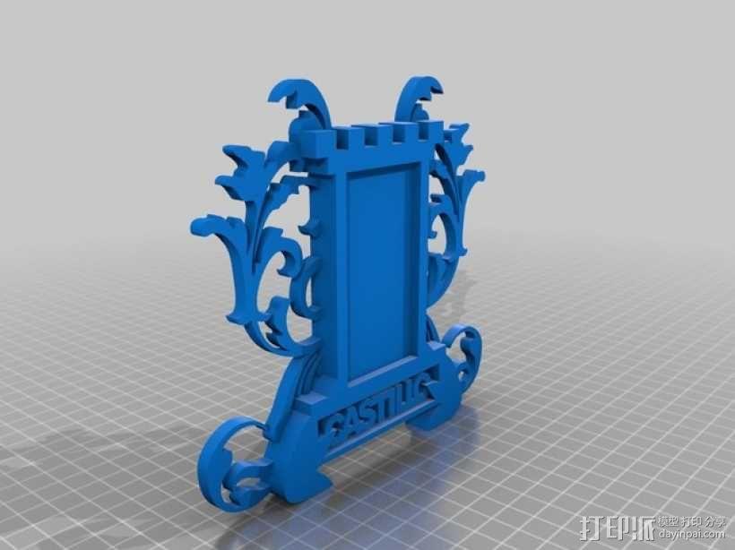 冰箱贴 3D模型  图1