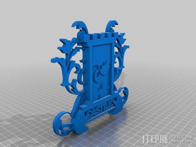 冰箱贴 3D模型  图2