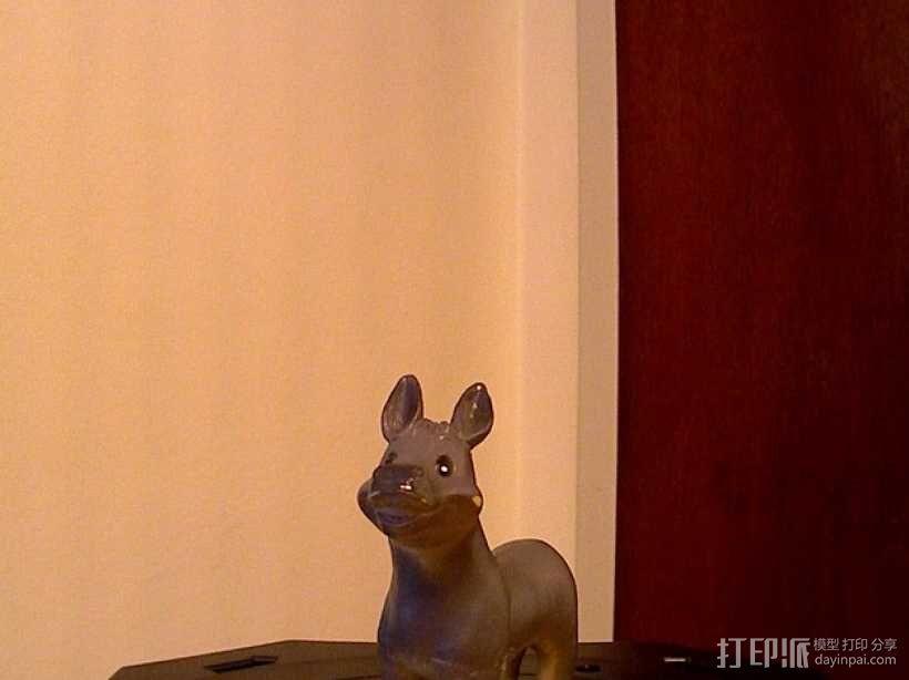 橡胶驴 3D模型  图1