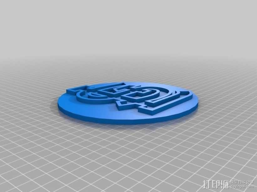 St. Louis标志 3D模型  图1