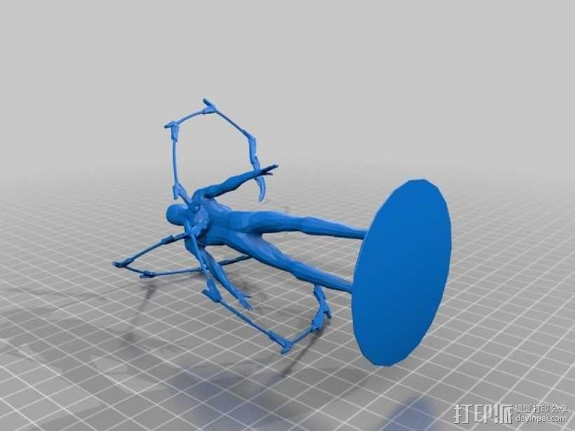 钢铁蜘蛛侠模型 3D模型  图1