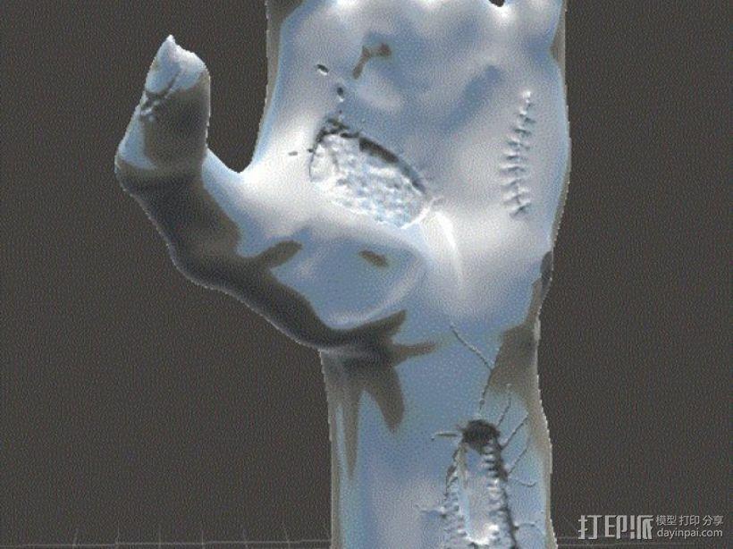 僵尸手 模型 3D模型  图5